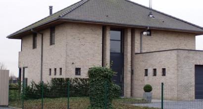 Architect landelijke stijl marc lammerant - Stijl eengezinswoning ...